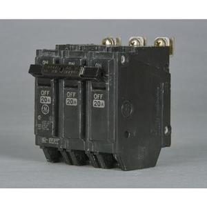 GE Industrial THQB32090 Breaker, 90A, 3P, 120/240V, Q-Line Series, 10 kAIC, Bolt-On