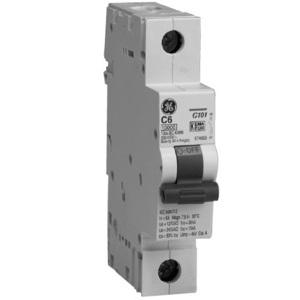 ABB EP101ULD05 Breaker, Miniature, 1P, 5A, 120VAC, 10kAIC, DIN Rail Mount