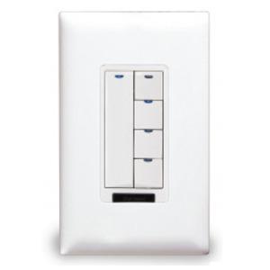 Wattstopper LMSW-105-W Digital Switch, 5-Button, Infrared, White