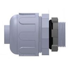 "Anamet 500002 Liquidtight Connector, Straight, 1/2"", Nylon"