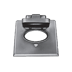 Red Dot CCPO Weatherproof Cover, 1-Gang, Type: Single Receptacle, Vertical Mount