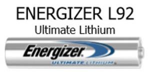 Energizer L92SBP-4 ENERGIZER ULTIMATE LI AAA-4 SENSOR EMOD