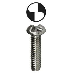 "Dottie T63234OR One-Way Tamperproof Machine Screw, 6-32 x 3/4"""