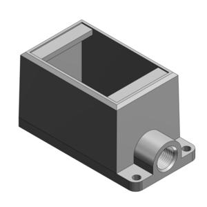 Thomas & Betts FD1-TB 1G 1/2 DEEP BOX