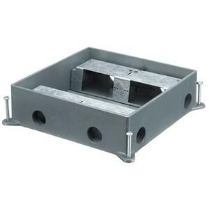 Hubbell-Kellems HBLCFB401CB Recessed Concrete Floor Boxes