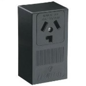 Leviton 5054 30 Amp Surface Mount Receptacle, 125/250V, 10-30R, Non-Grounding