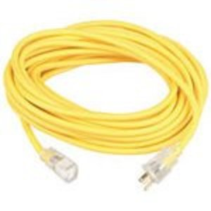 Coleman Cable 1488SW0002 14/3 50' SJEOW YEL LE