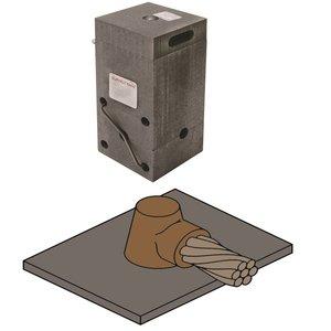 Burndy B647 Mold, Horizontal Cable/Horizontal Surface