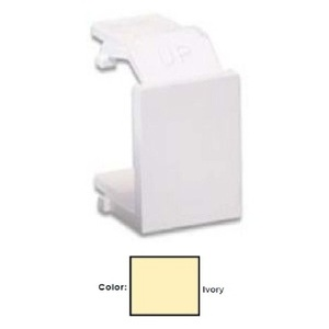 Leviton 40859-BI SNAP-IN PORT BLANK *** Discontinued ***