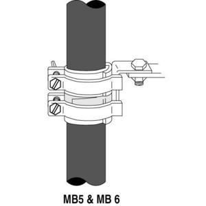 """3M MB-6 Mounting Brackets Mb And Mbs Series, Outer Diameter 1.80""""–2.40"""""""
