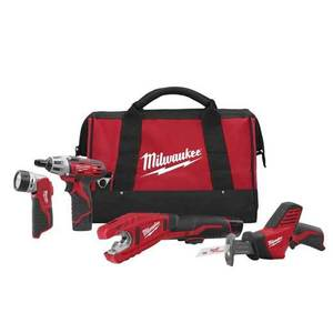 Milwaukee 2499-24 M12 Cordless Tool Kit