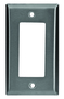 97401SS WALL PLATE 1G DECORATOR S/S
