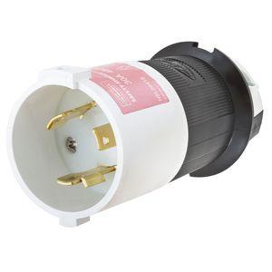 Hubbell-Wiring Kellems HBL2641S HUB HBL2641S LKG S/SHRD PLUG, 30A