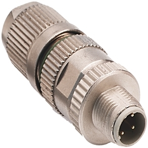 Allen-Bradley 1585D-F4DC-SH Connector, Insulation Displacement, Female, Shielded, 4Pin, M12