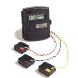 Square D EMB2021 Sub-Meter, PowerLogic, 200A, 120/240VAC, 208Y/120VAC, 2 CT's