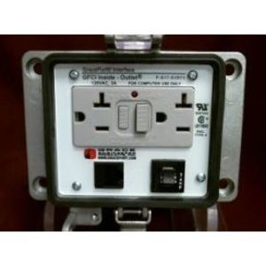 Grace Engineered Products P-Q17-K3RF3 Programming Port, RJ45, Female to Female, GFCI Outlet, 3A Breaker
