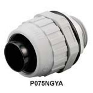 "Hubbell-Kellems P100NBKA Liquidtight Connector, Straight, Male, Size: 1"", Non-Metallic"