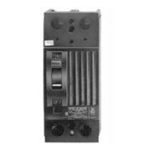 ABB TQD22125LL Breaker, Molded Case, 125A, 2P, 120/240VAC, 10kAIC, Less Lugs