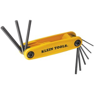 Klein 70575 Grip-It Hex Key Set, 9 Sizes
