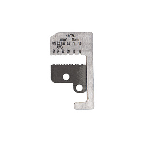 11074 BLADES FOR WIRE STRIPPER 16-26 AWG