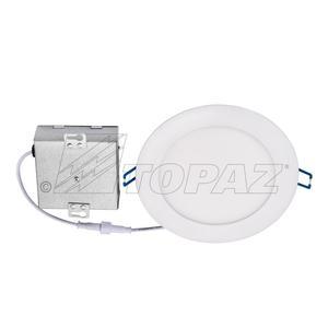 Topaz RDL/63RND/12/WH/D-50 6IN ROUND LED SLIM RETROFIT 3000K 12W 700 LUMENS
