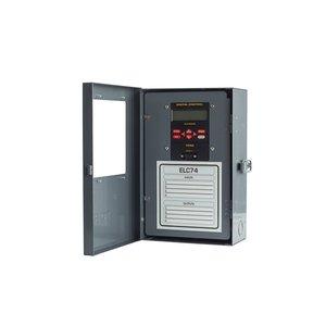 NSI Tork ELC74 Time Switch, 7 Day, SPDT, 4 Channel, NEMA 1, 20A, 24, 120-277VAC