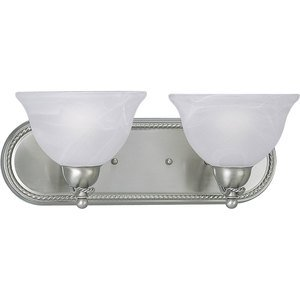 Progress Lighting P3267-09 Avalon 2-100W MED BATH BRKT Gray