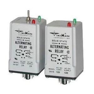 Time Mark 261D-120 Alternating Relay, Double Pole, 120V AC/DC Supply, 90-130V Range
