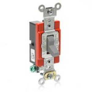 Leviton A1221-GY AM TREATED SP TOGGLE GY
