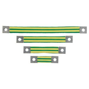 Panduit BS101245 Braided Bonding Strap, One-Hole, Insulat