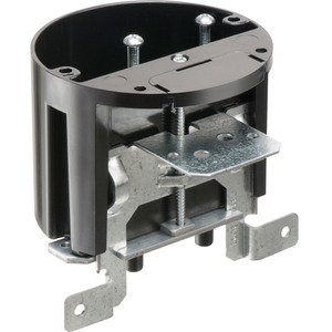"Arlington FBA426 Ceiling/Fixture Box, Diameter: 4"", Depth: 1-1/2"", Non-Metallic"