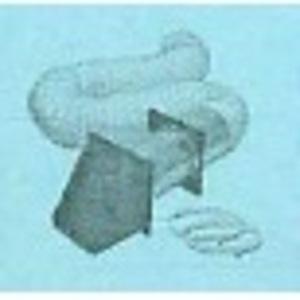 Lambro 204W Ducting, Wall Vent Kit, 8'