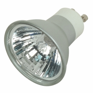 Satco S4182 Halogen Lamp, MR16, 50W, 120V