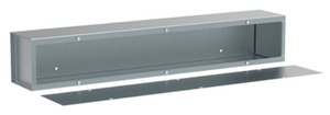 nVent Hoffman A121236T1T Wiring Trough, Type 1, 12x12x36