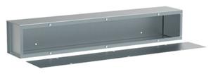 Hoffman A121236T1T Wiring Trough, Type 1, 12x12x36