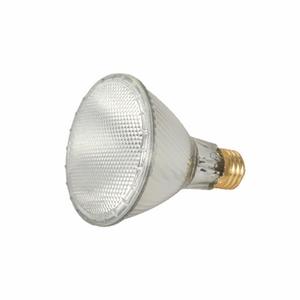 Satco S2241 Halogen Lamp, PAR30L, 39W, 120V, WFL50