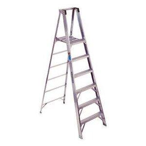 Werner Ladder P372 Aluminum Platform Stepladders