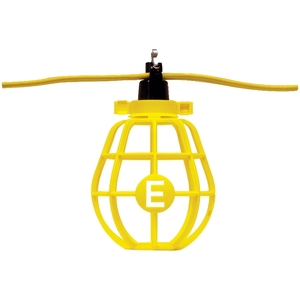 Ericson X-142100 String Light, 100', Yellow, 150W