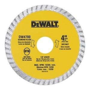 DEWALT DW4700 4IN XP TURBO DIAMOND BLADE
