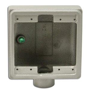 """Appleton FS275 FS Device Box, 2-Gang, Dead-End, Type FS, 3/4"""", Malleable Iron"""