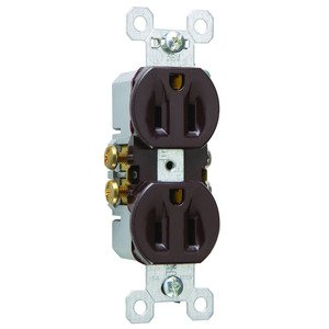 Pass & Seymour 3232-S P&S 3232-S REC 15A/125V SIDE+SPEED