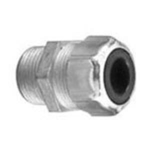 "Thomas & Betts 2930 Cord Connector, Liquidtight, Straight, 3/4"", Steel"