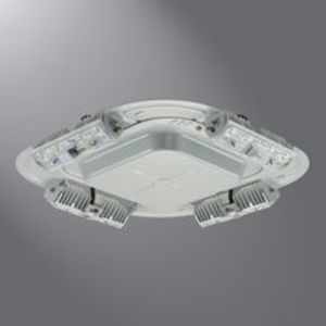 Lumark QDCAST1B LED Luminaire, Quadcast, 56W, 120-277V