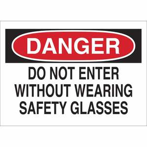 22605 EYE PROTECTION SIGN