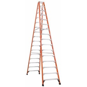 Louisville Ladders FM1416HD TWIN FRONT