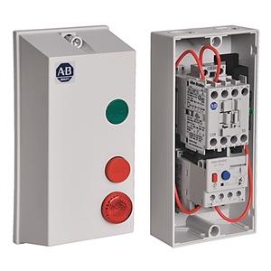 Allen-Bradley 198E-C0S4 Enclosure, with Start, Stop/Reset, Buttons, Plastic, NEMA 4/4X/12