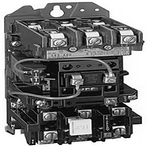 Allen-Bradley 509-BOH Starter, Open, Size 1, Full Voltage, 600VAC, 27A, 208VAC Coil