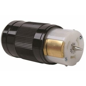 Pass & Seymour CS6364 Locking Connector, 50A, 125/250V, California Style, 3P4W
