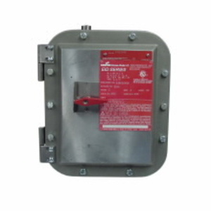 Cooper Crouse-Hinds EIDA3030 Enclosure With Disconnect Assembly, 30A, 240 - 600VAC, Explosionproof