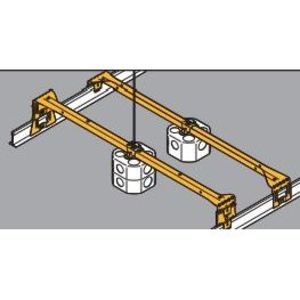 Eaton B-Line BA50D BOX HANGER FOR 1 1/2-IN. OR 2 1/8-IN. DEEP BOXES WITH 1 1/2-IN. EXTENSION RING,